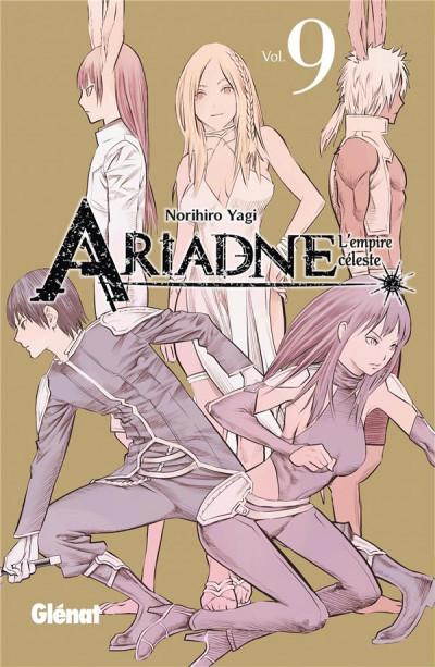 Couverture Ariadne l'empire céleste tome 9