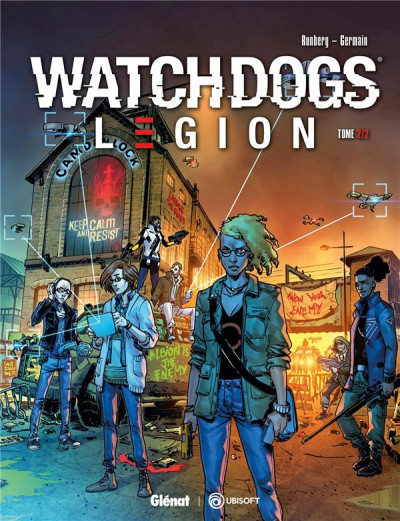 Couverture Watch dogs legion tome 2