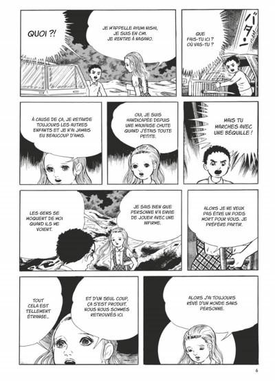 Page 3 L'école emportée - édition originale tome 2