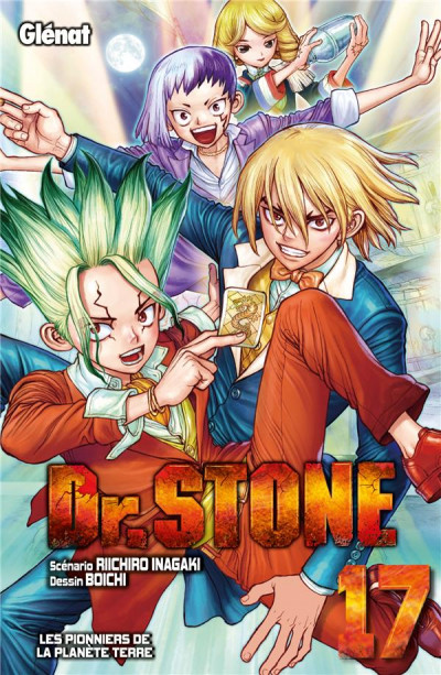 Couverture Dr. Stone tome 17