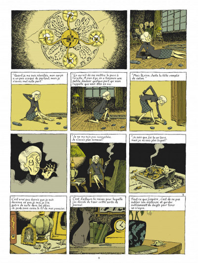 Page 5 Ma vie posthume - intégrale