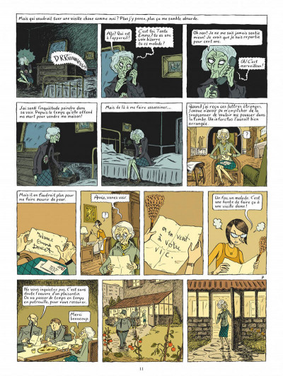 Page 8 Ma vie posthume - intégrale