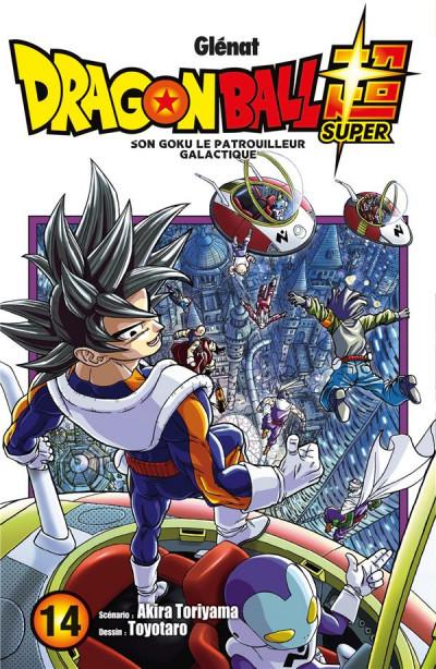 Couverture Dragon ball super tome 14