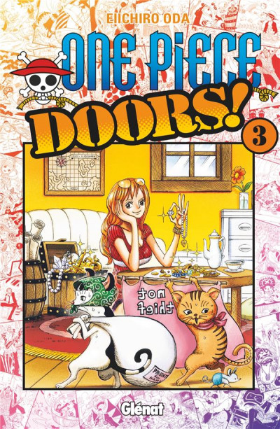 Couverture One piece doors tome 3