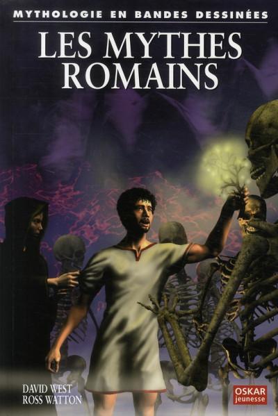 Couverture les mythes romains