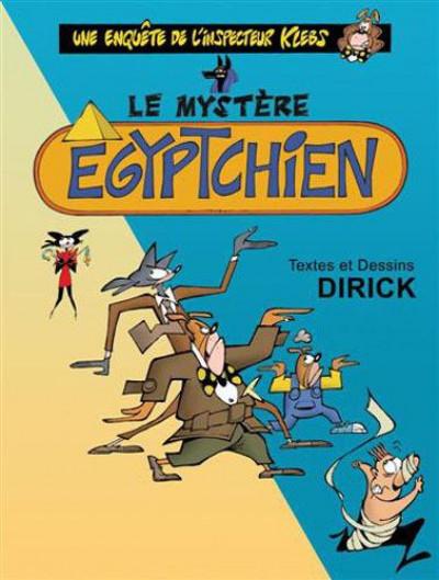 Couverture inspecteur klebs tome 5 - le mystère égyptchien