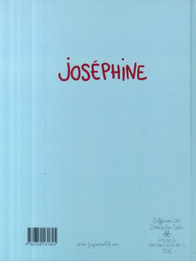Dos joséphine tome 2 - même pas mal