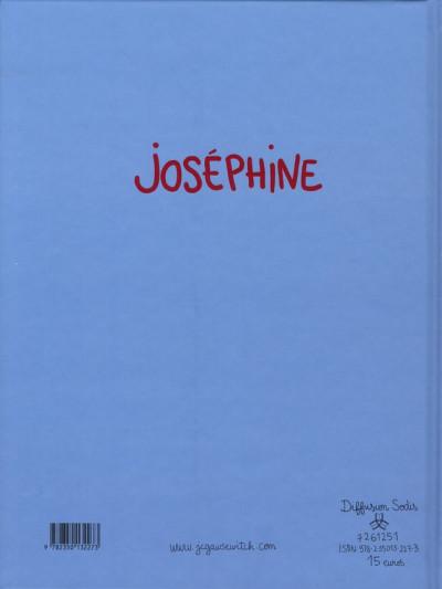 Dos Joséphine tome 3 - Joséphine change de camp