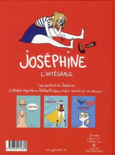 Dos Joséphine - intégrale tome 1 à tome 3