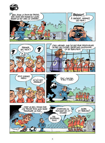 Page 5 les footmaniacs tome 4