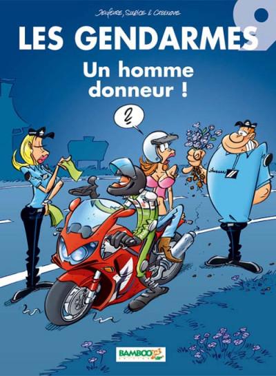 image de les gendarmes tome 9 - un homme donneur