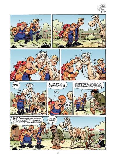 Page 4 les pompiers tome 5 - hommes des casernes