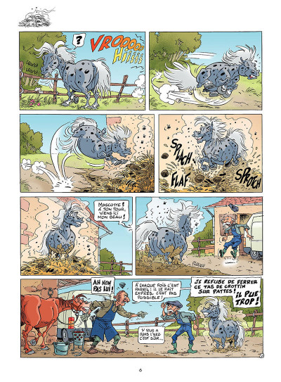 Page 5 triple galop tome 1