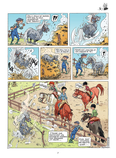 Page 6 triple galop tome 1