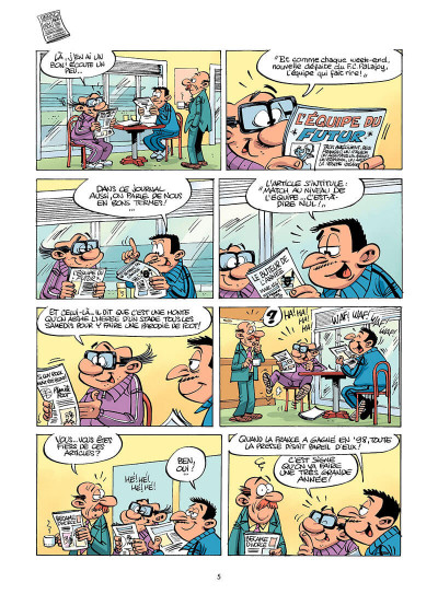 Page 4 les footmaniacs tome 5