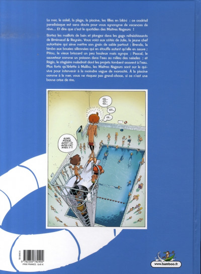 Dos les maîtres nageurs tome 1 - comme un poisson dans l'eau