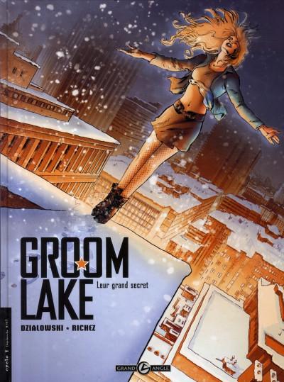 Couverture groom lake tome 2 - leur grand secret