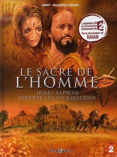 Couverture Homo sapiens tome 2 - le sacre de l'homme