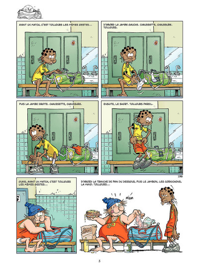 Page 4 basket dunk tome 4