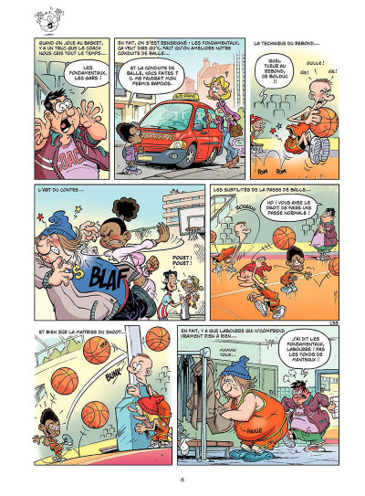 Page 5 basket dunk tome 4