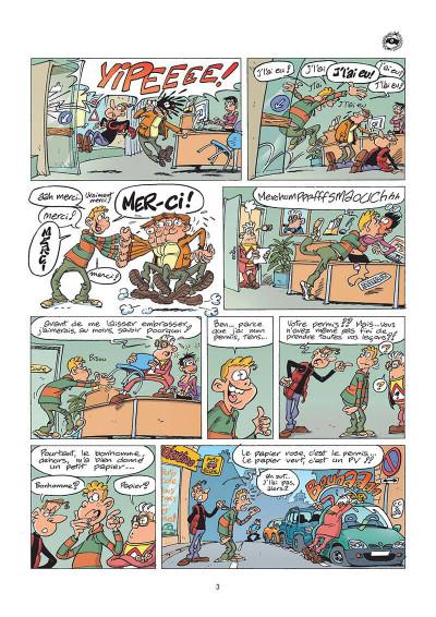 Page 2 l'auto école tome 5 - auto et colles