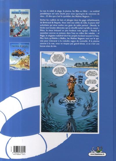 Dos les maîtres nageurs tome 2 - coquillages et crustacés