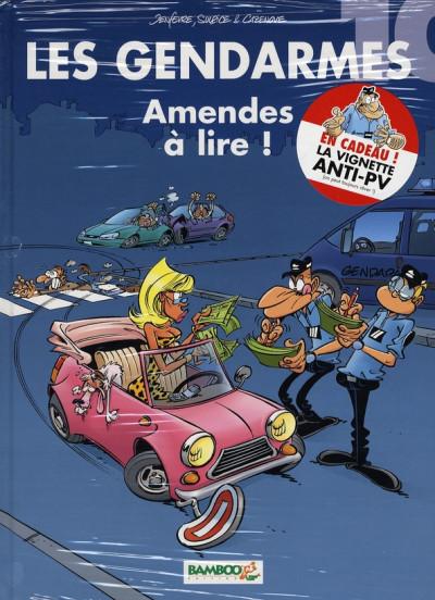 image de les gendarmes tome 10 - amendes à lire