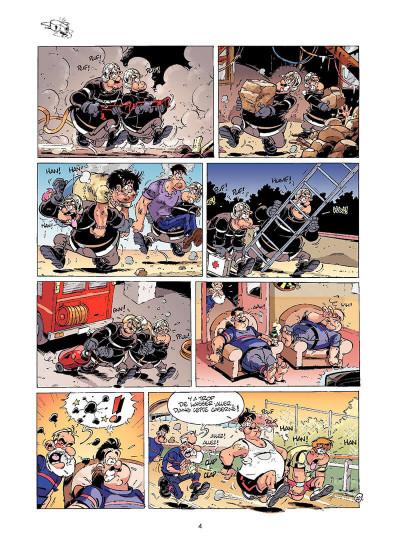 Page 3 les pompiers tome 6 - un homme et une flamme