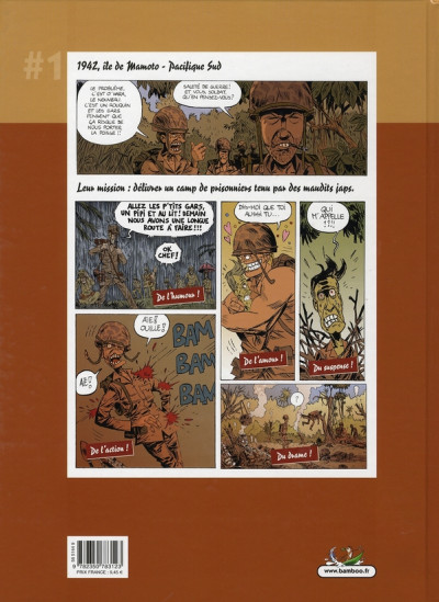 Dos sergent mastock tome 1 - le péril roux