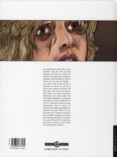 Dos borderline tome 1 - les mots de la nuit