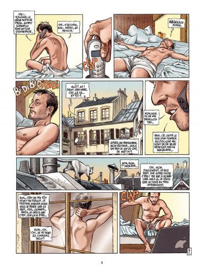Page 3 borderline tome 1 - les mots de la nuit