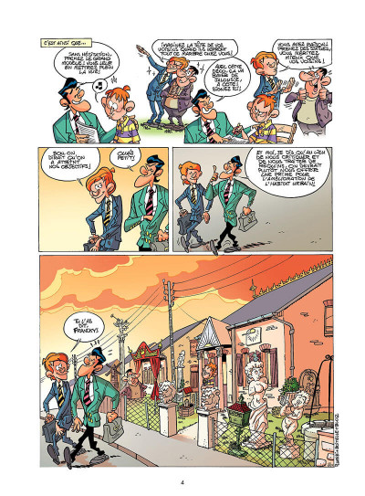 Page 3 les commerciaux tome 5 - vente en ligne
