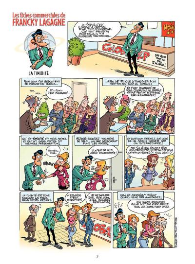 Page 6 les commerciaux tome 5 - vente en ligne