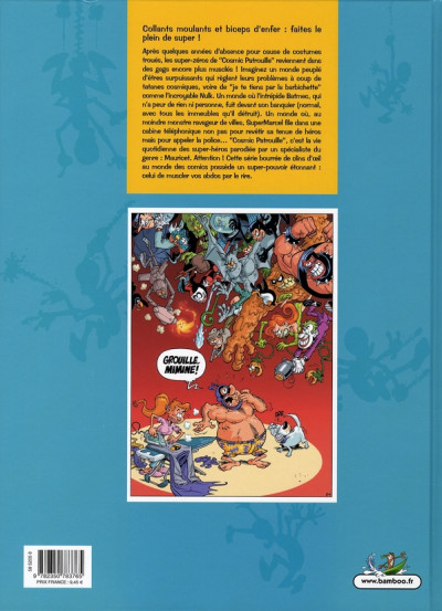 Dos cosmic patrouille tome 1