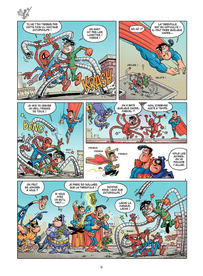 Page 5 cosmic patrouille tome 1