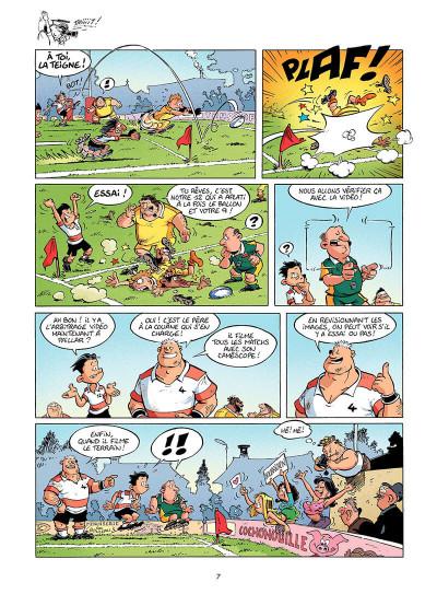 Page 6 les rugbymen tome 6 - on commence à fond, puis on accélère !