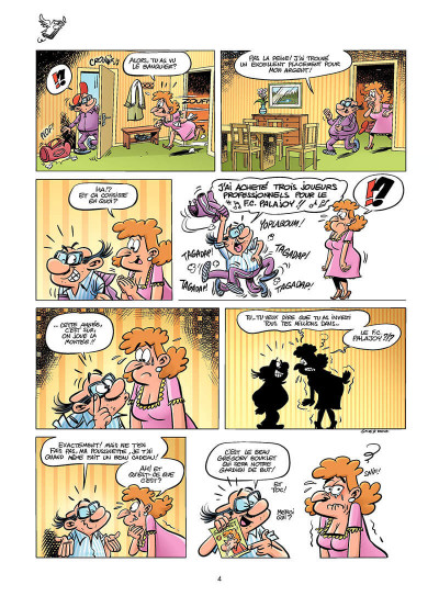 Page 3 les footmaniacs tome 6