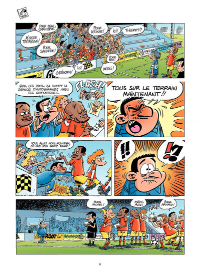 Page 5 les footmaniacs tome 6