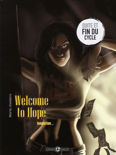 Couverture welcome to hope tome 3 - inéquation...