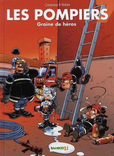 image de les pompiers tome 7 - graine de héros