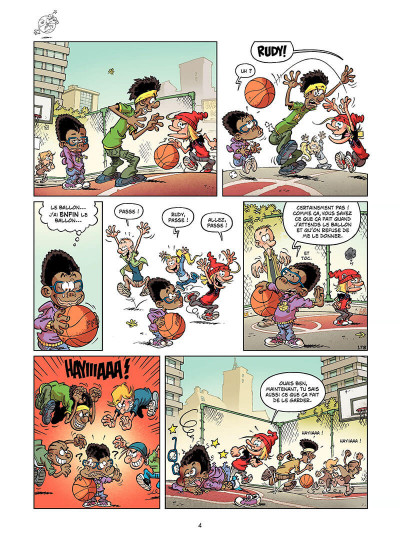 Page 3 basket dunk tome 5