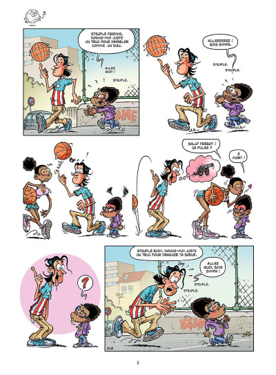 Page 4 basket dunk tome 5