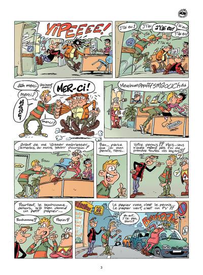 Page 2 l'auto école tome 6 - leçon de bonne conduite