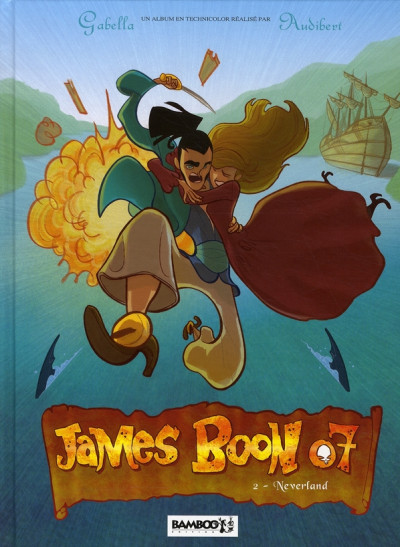 Couverture James Boon 07 tome 2 - neverland