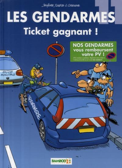 image de les gendarmes tome 11 - ticket gagnant
