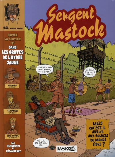 Couverture sergent mastock tome 2