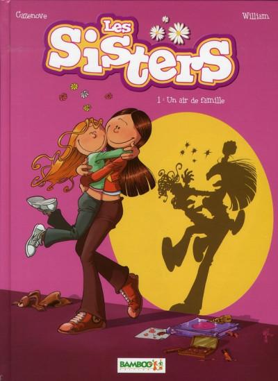 image de les sisters tome 1 - un air de famille