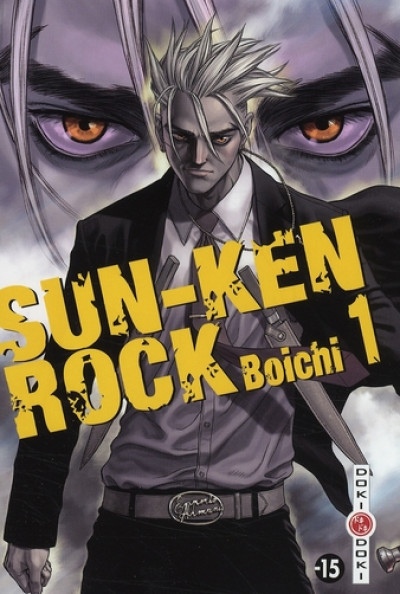 Couverture sun-ken rock tome 1