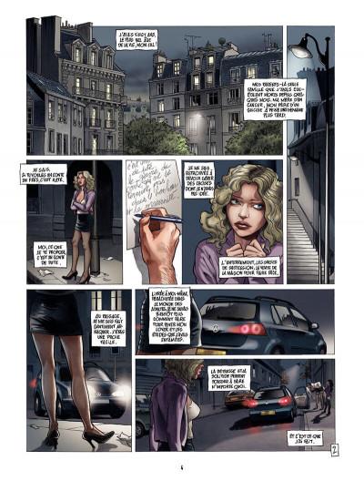 Page 3 borderline tome 2 - ses cauchemars s'écrivent la nuit mais se vivent le jour...
