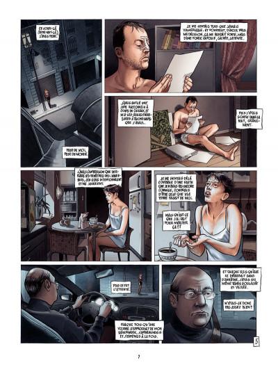 Page 6 borderline tome 2 - ses cauchemars s'écrivent la nuit mais se vivent le jour...